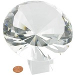 Buy Giant Glass Diamond.