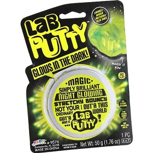 Photo of the: Glow Lab Scientific Putty