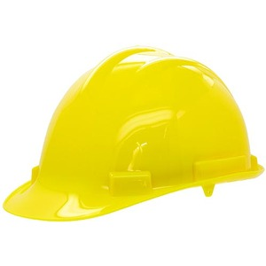 Photo of the: Hard Hat - Head Protection in the Laboratory