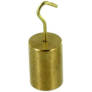 Photo of the: Hooked Brass Weight - 100g