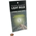 Photo of the: Human-Powered Light Bulb