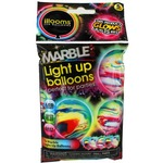 Photo of the: Illooms Light-up Balloons - Marble 5 Pack