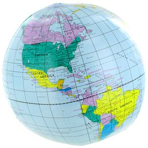 Photo of the: Inflatable World Globe - 12in
