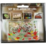 Photo of the: LEDs Set - Assorted 80pcs