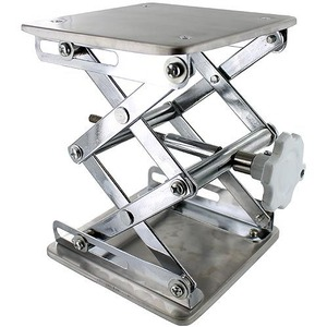 Photo of the: Laboratory Scissor Jack - Stainless Steel