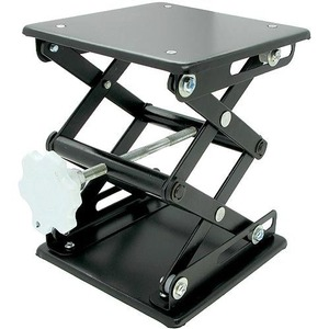 Photo of the: Laboratory Scissor Jack - Black Enamel