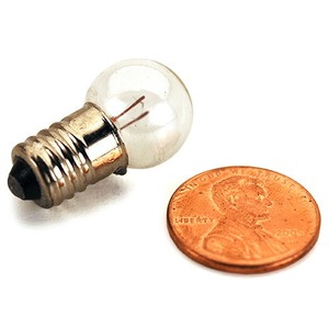 Photo of the: Mini Lightbulbs - 1.5-3V E10 - Pack of 10