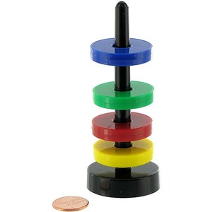 Photo of the: Magnetic Rings and Stand Set