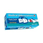 Photo of the: Medical Abbreviations Flash Cards