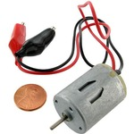 Mini DC Motor with Leads.