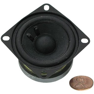 Photo of the: Mini Hobby Speaker - 2 inch 4 Ohms