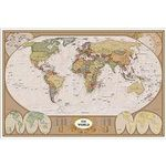 Photo of the: Antique Map of the World Poster