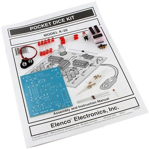Photo of the: Pocket Dice Electronics Solder Kit