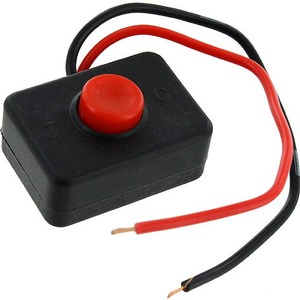 Photo of the: Momentary Push-Button Switch with Leads
