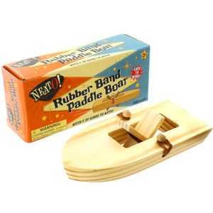 Photo of the: Rubber Band Paddle Boat