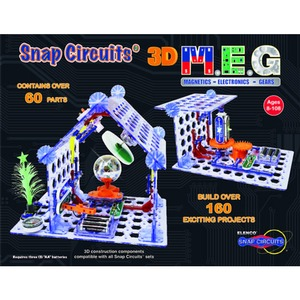Photo of the: Snap Circuits 3D M.E.G.