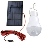 Photo of the: Camping Solar LED Light Bulb - 0.8W 5V 150 Lumens