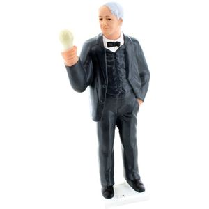 Photo of the: Solar-Powered Edison Action Figure