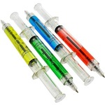 Photo of the: Syringe Ballpoint Pens - Set of 4