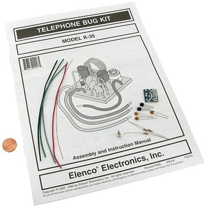 Photo of the: Telephone Bug Kit - Solder Electronics Kit