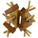 Photo of the: Triangulated Bamboo Puzzle