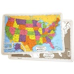 Photo of the: U.S. Map Placemat