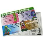 Photo of the: US Weights and Measures Placemat