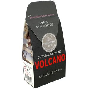 Photo of the: Volcano Crystal Growing Kit