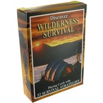 Wilderness Survival Playing Cards.