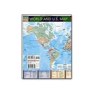 Photo of the: World and U.S. Map Chart