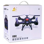 Buy X163 Quadcopter Drone - 4Ch 2.4GHz Black.