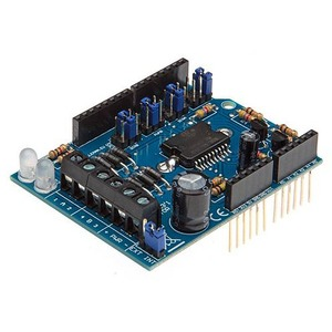 Photo of the: Motor and Power Shield for Arduino