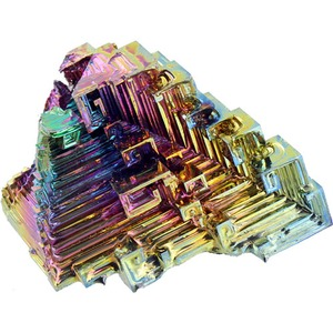 Photo of the Bismuth Crystal - Large