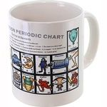 Photo of the: The Cartoon Periodic Chart Mug