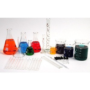 Photo of the 36 Piece Chemistry Glassware Kit
