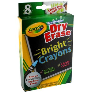 Photo of the Crayola Dry Erase Crayons
