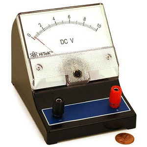 Photo of the DC Voltmeter 0-10V