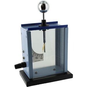 Photo of the Deluxe Gold Leaf Electroscope