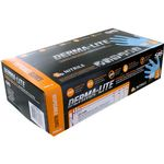 Photo of the: Derma-Lite Nitrile Exam Gloves - LARGE - Box of 100