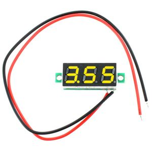 Photo of the: Digital DC Voltmeter Module - 3V-30V