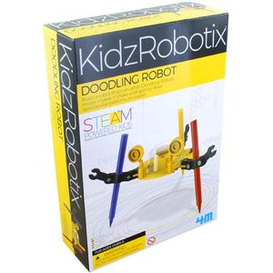 Photo of the Doodling Robot 4M Kit