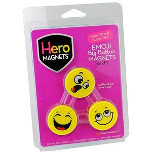 Photo of the: Emoji Big Button Magnets