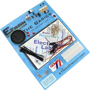 Photo of the: Etron 40 Basic Circuits Labs Kit