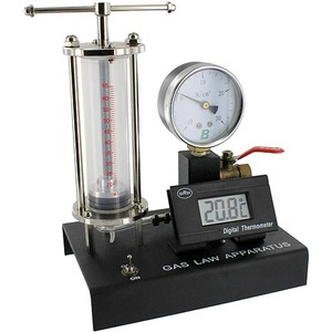 Photo of the Gas Law Apparatus