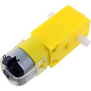 Photo of the Geared DC Motor 130 3V-12V - for DIY Car and Robot Projects