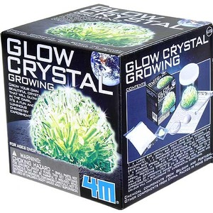 Photo of the Glow Crystal Growing 4M Kit