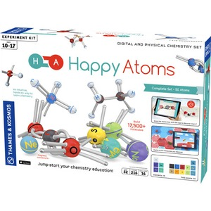 Photo of the: Happy Atoms Kit - Complete Set - 50 Atoms