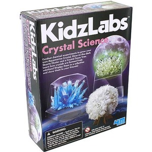 Photo of the KidzLabs 4M Crystal Science Kit