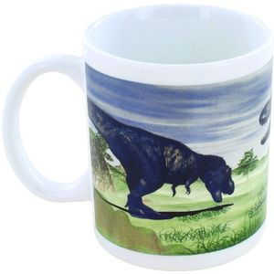 Photo of the: Living to Extinct Dinosaur Temp-Changing Coffee Mug