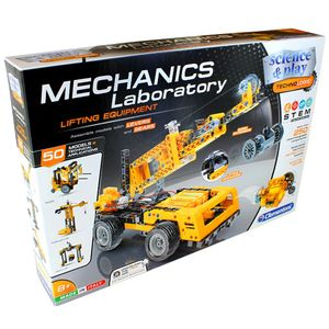 Photo of the: Mechanics Lab - Cranes - Motorized Construction Models Kit